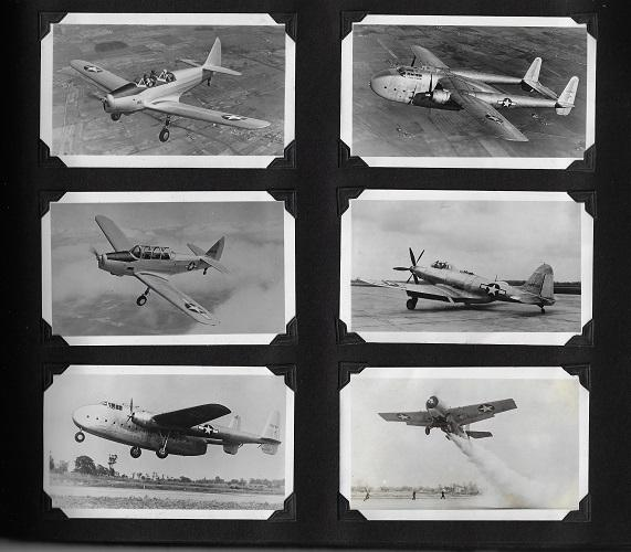 Civilian and Military Aircraft Developed During the 1930's and Through WWII
