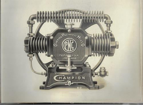 Champion Pneumatic Machinery Co. Photo Album - 1924-1925