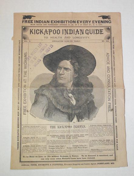 Kickapoo Indian Guide to Health and Longevity - c, 1900