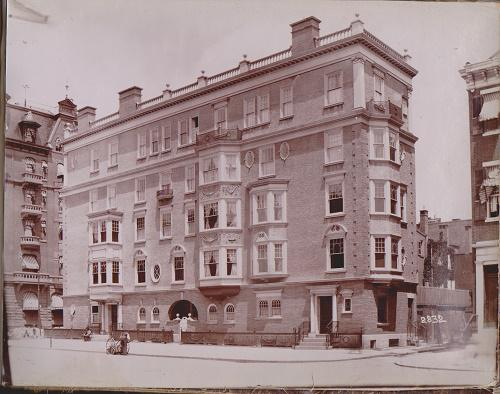 Queen Anne and Beaux Arts Photo Album - c. 1899