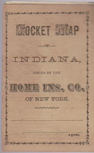 Pocket Map of Indiana
