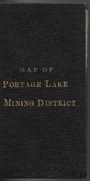 Topographic Map of Portage Lake Mining District - 1888