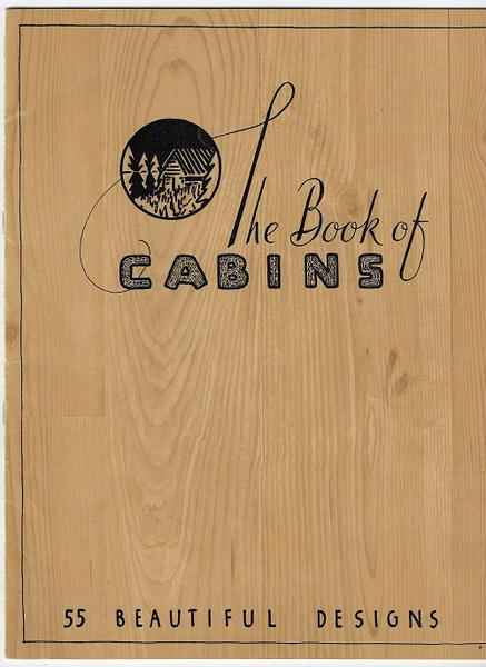 The Book of Cabins - 1941
