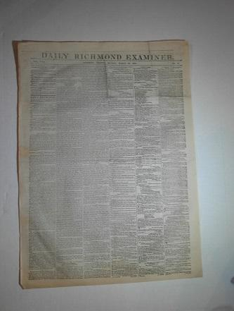 Daily Richmond Examiner - March 28, 1864