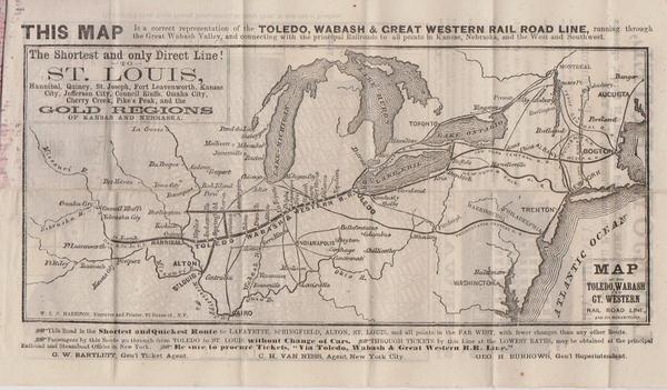 Stranger's Guide Around New York ... Gold Regions of Kansas ... on road map of kansas, antique map of kansas, large map of kansas, physical map of kansas, radon map of kansas, blank map of kansas,