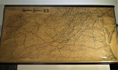 Map of the Richmond and Louisville R.R. - 1882